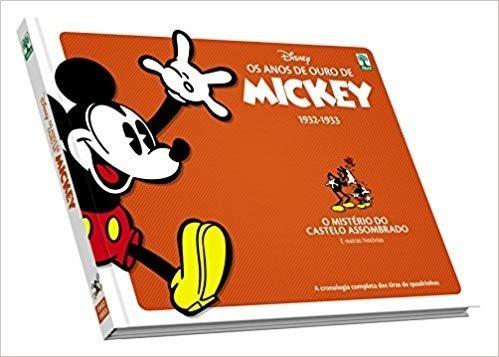 Edição De Colecionador. Os Anos De Ouro Do Mickey. Capa Dura