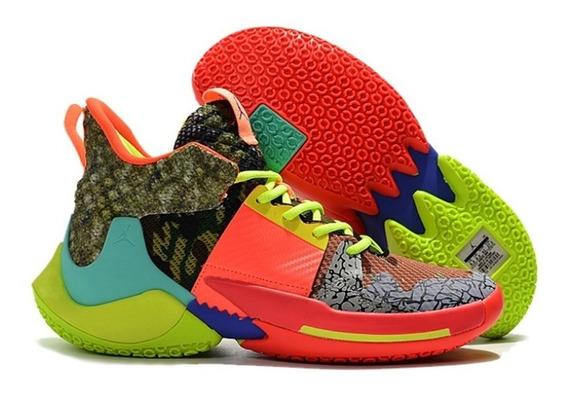 Zapatillas Basket Jordan Why Not Zero.2 Multicolor Oferta