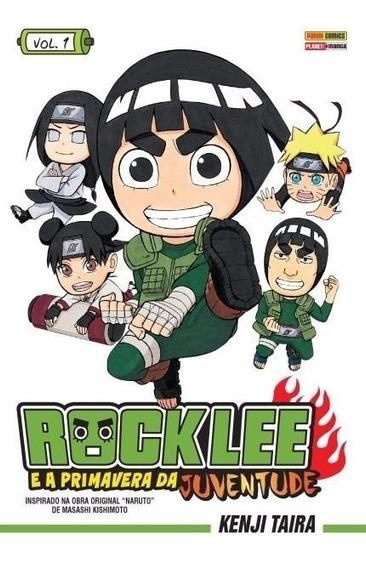Rock Lee 1! A Primavera Da Juventude! Mangá Panini! Lacrado