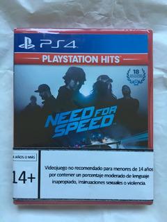 Need For Speed Ps4 (sellado) Envíos Todo Chile