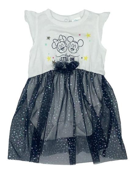 Vestido Algodon Estampado Disney Minnie
