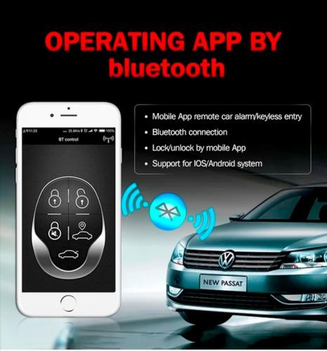 Imagen 1 de 7 de Alarma Para Carro Con Bluetooth