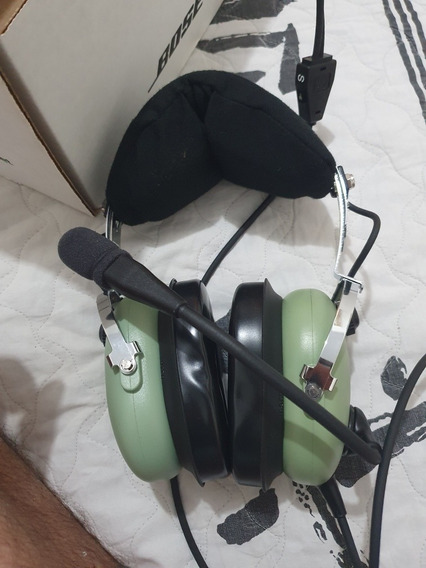 Headset David Clark - H 10-13s - Avião
