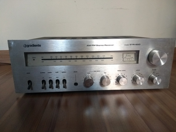 Receiver Amplificador Gradiente Str 850