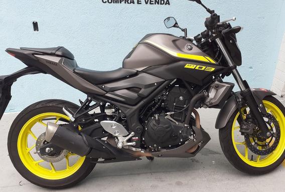 Yamaha Mt 03 2019 Cinza
