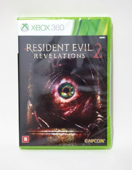 Jogo Resident Evil Revelations 2 Xbox 360 Novo Frete Grátis