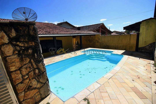 Casa Isolada, Com 6 Suítes E Piscina A 200m Da Praia - Cod: 30 - V30