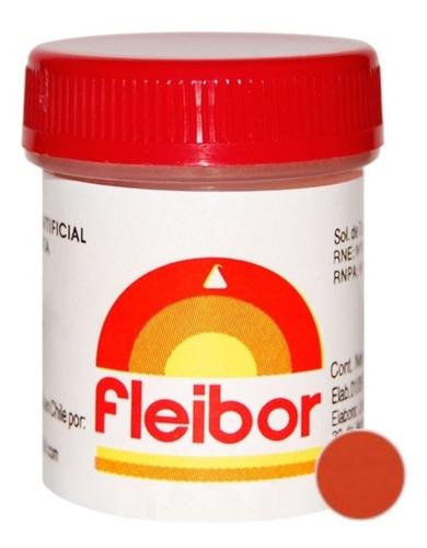 Colorante Comestible En Pasta Fleibor 15gr Para Reposteria