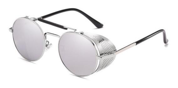Oculos Sol Redondo Vintage Retro Stilo Alok