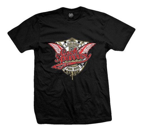 Remera Cock Sparrer  Shock Troops