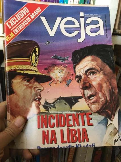 Livro Revista Veja Nº 0677 - 26/08/1 Trapistas Fogem -