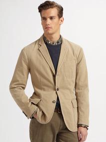 Vestón Blazer Stretch Ralph Lauren Polo No Boss Zara Lacoste
