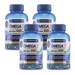 Kit Omega 3 (4un) C/120caps Catarinense