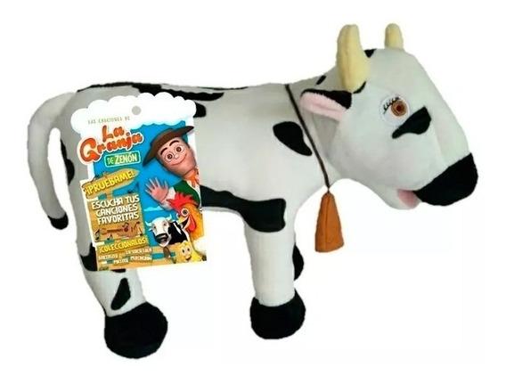 La Granja De Zenon Peluche La Vaca Lola 20cm 8001 E.full