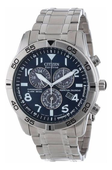 Reloj Citizen Eco-drive Alarma Crono Acero Bl5470-57l
