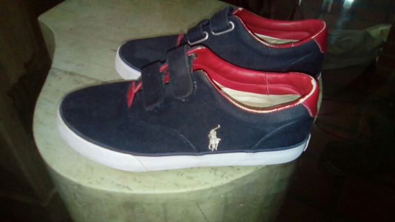 Zapato Polo Niño Talla 34 Usado