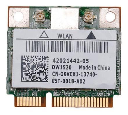 Placa De Red Wifi Dell Dw1520 Bcm4322 1520 Wlan 802.11 A/b/c