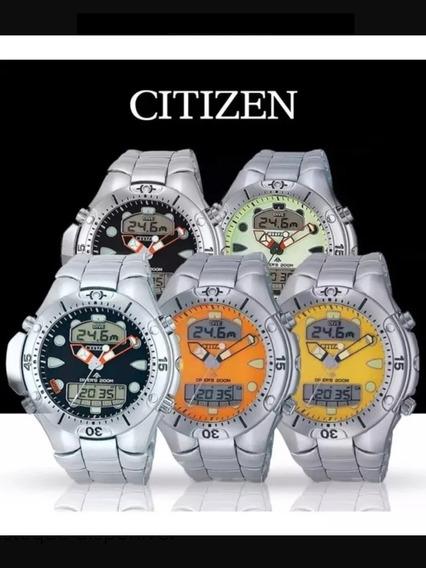 Relógio Citizen Aqualand Jp1060 (original) Pronta Entrega