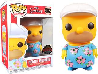Funko Pop The Simpsons - Homero Gordo En Muumuu
