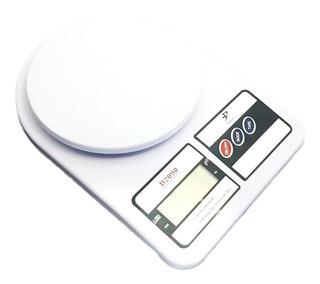Balanza Digital Peso De Cocina Portatil 10kg Incluye Bateria