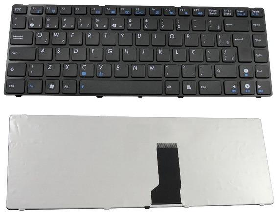 Teclado Notebook Asus 04gn0n1kbr00-2 Mp-09q56pa-528 Abnt2