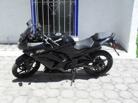 Kawasaki Ninja 250 R Negra 2009 Cero Detalles 2009
