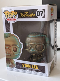 Funko Pop Stan Lee 07 - 100% Original Colección Limitado