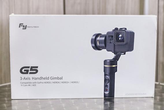 Gimbal Feiytech G5 - Na Caixa - P/ Action Cam Gopro Troca