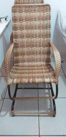 Cadeira De Balanço Fibra Sintetica