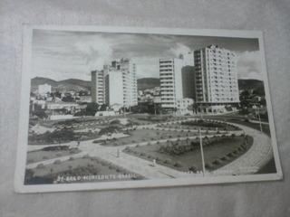 Postal Praça Raul Soares Belo Horizonte Em 1957