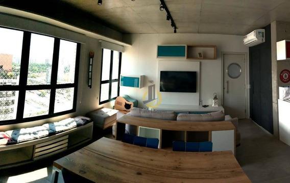 Apartamento Com 1 Dormitório À Venda, 70 M² Por R$ 550.000,00 - Mooca - São Paulo/sp - Ap0890