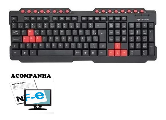 Teclado Gamer Barato Usb Minas Gerais Abnt2 Pc Multimidia