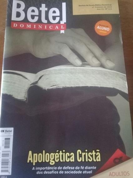 Revista Da Escola Bíblica Dominical Betel