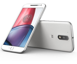 Celular Moto G4 Plus 32gb Branco Usado Bom Vitrine - 3