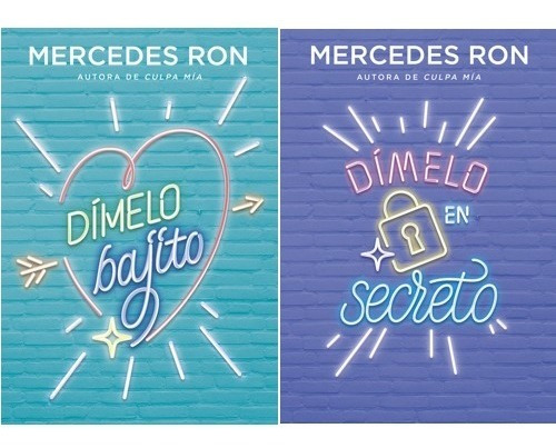 Pack Dímelo Bajito + En Secreto - Mercedes Ron