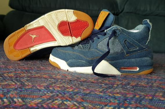 Tênis Levis Air Jordan 4 Iv (38)