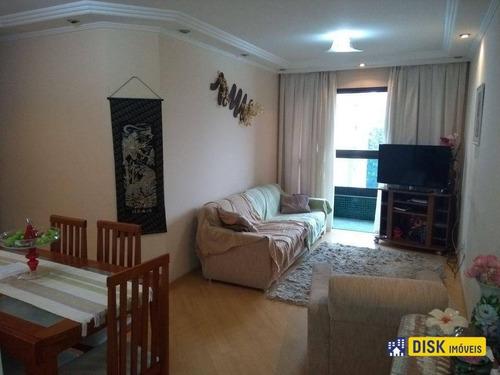 Apartamento Com 3 Dormitórios À Venda, 75 M² Por R$ 470.000,00 - Vila Caminho Do Mar - São Bernardo Do Campo/sp - Ap1208