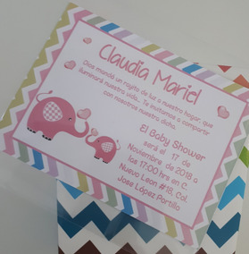 30 Invitaciones Baby Shower