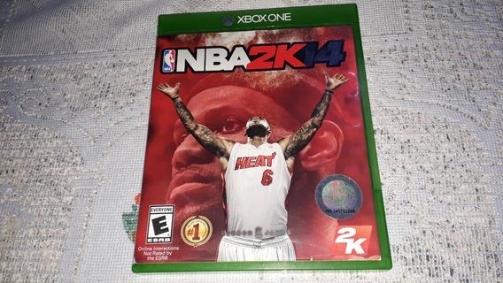 Nba 2k 14 Original Completo Xbox One Fisica