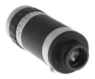 Lente De Teléfono Móvil Universal De 8 X 18 Zoom Óptico