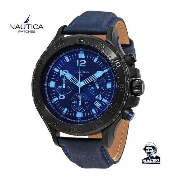 Reloj Nautica Nst 01 Nai21008g En Stock - Original Garantía
