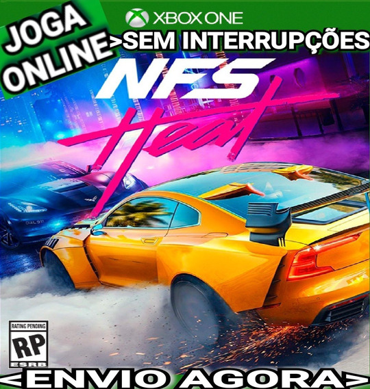 Need Heat Xbox One Joga Online Mídia Digital Imediato