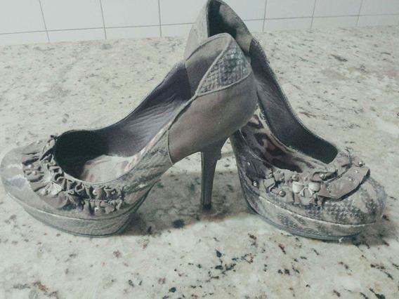 Sapato Tanara Marrom N° 38