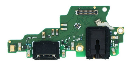 Flex Carga Usb Huawei Honor Play Microfone Conector Fone P2