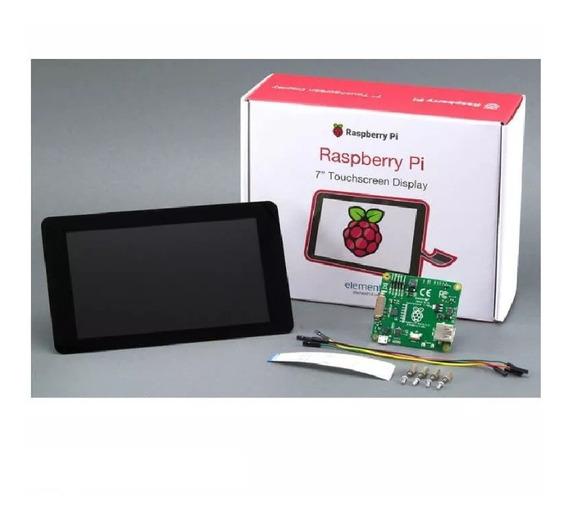 Display Original Oficial Raspberry E14 7pulgadas Emakers