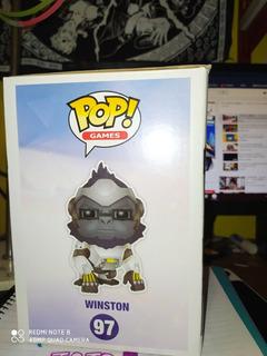 Funko Pop: Overwatch; Winston #97 15 Cm