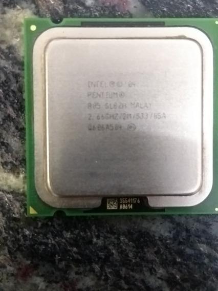 Processador Intel Pentium 805 Socket 775 2,66 Ghz