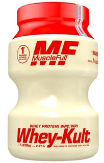 Whey-kult Isolado E Concentrado 1,030kg - Muscle Full