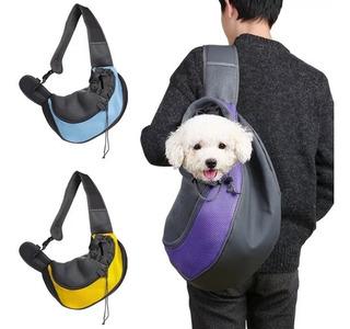 Mochila Transportadora Perros Manos Libres Razas Pequeñas