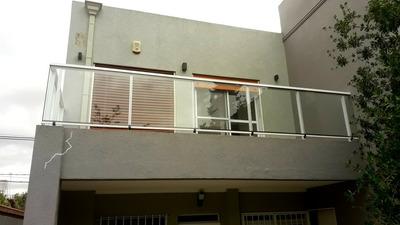 Baranda Balcón De Aluminio Y Vidrio Laminado Linea (aluar)..